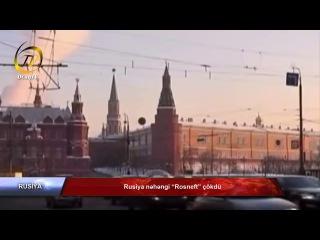 """Rusiya nəhəngi """"Rosneft"""" çökdü"""