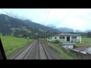 Fuhrerstandsmitfahrt Giselabahn Worgl - Kitzbuhel HD - Cab Ride - OBB 1116