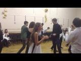 новогодние танцы в школе 53