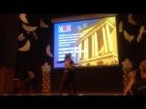Вручение дипломов выпускникам МЭИ 2014         Мишина Анастасия Чекалин Даниил