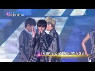 [PERF][140615] KBS1 Open Concert «LA K-Pop Festival» | Toherat - Delicious + Infinite - Man In Love