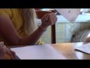 Летний лагерь для девочек 2014 год. Тема ЦЕЛОМУДРИЕ. Мастер-класс Лизы Самошкиной.
