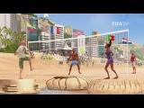 2014  FIFA World Cup Чемпионат мира - официальный телевизионный ролик. Реклама. Заставка Чемпионата мира