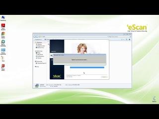 «Как установить антивирус eScan».