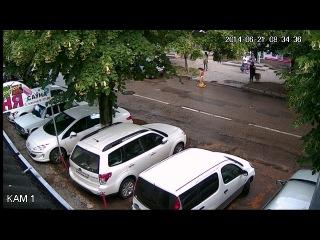 FE-HFW2100V HD-CVI Корпусная уличная видеокамера