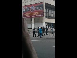 17.05.2014 #площадь #ленина#омон#крым#симферополь