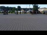 Похорон Черкасских ребят погран. часть Оршанец. Черкассы. 23.06.2014.