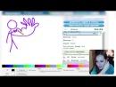 ХУДОЖНИЦА И ДИКАПРИО ♥ Рисуем И Угадываем -- Детка Геймер 15 - Саша Спилберг.