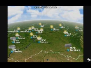 Прогноз погоды по России на 28 мая 2014 года от RTG TV