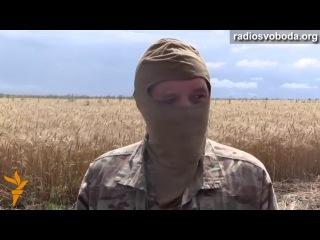 Пленный из Славянска - о бегстве сепаратистов из города