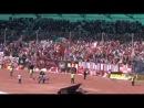 Фанаты ФК Спартак поют песню Максим Знаешь ли ты на стадионе в Казани.