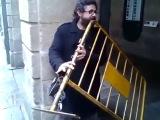 Необычный уличный музыкант (Not Vine)