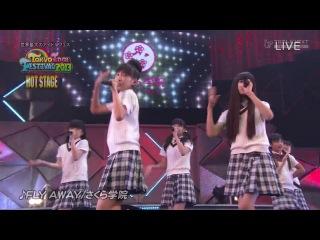 Sakura Gakuin - Tokyo Idol Festival 2013 Hot Stage