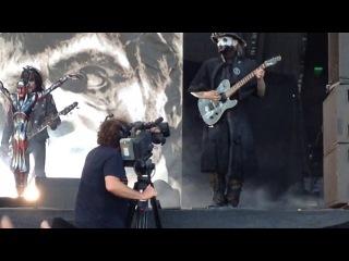 Nova Rock 2014 Rob Zombie JOHN 5 Dracula