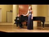 Концерт 28 мая. Александра Ляпина
