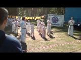 Праздник карате Киокушинкай  в спорт лагере в Сиверском,06,07,2014. Часть 4.
