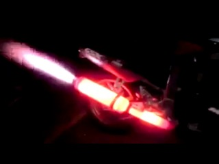 FIRE THROWING Motorcycle Exhaust like F1 Formula car !_HD