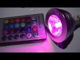 LED RGB лампа ''Home Party'' (AleX-market)