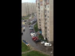 Разгар Лета, конец Июня 2014 года в Мурманске. Просто огонь.