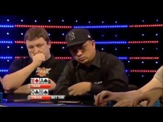 Пятёрка лучших покерных блефов