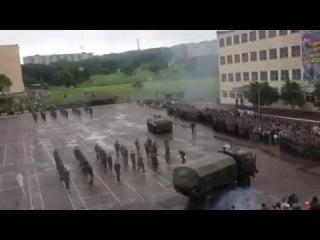 БТР задавил срочника в День России