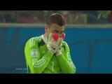 Позор на чемпионате мира 2014 Игорю Акинфееву в матче против южной Кореи