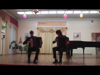 Konstantin Novichkov & Alexey Mykitenko plays Prokofiev 7th Piano Sonata (3rd movement)
