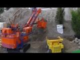 Игрушки для мужчин: Строительная техника в работе