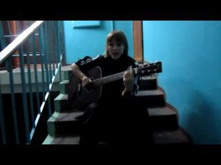 красивая песня под гитару девушка классно поёт!