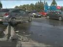 Две иномарки не поделили перекресток в центре Челябинска: есть пострадавшие