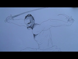 Як намалювати козака-характерника?