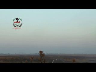 Сирия.выстрел по танку САА из ПТУР.пров.Идлиб.
