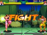 Marvel Super Heroes vs. Street Fighter. Dan and Cyclops