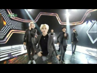 EXO-K - MC Cuts & Interview & Overdose & No.1 & Ending @ Inkigayo 140518