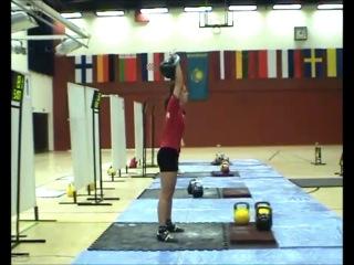 [Силовые женские] Ксения Дедюхина - 138 * 24 кг гиря, в\к до 63 кг