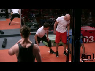 Спорт-Фристайл от фриранера и паркурщика-трейсера Дамьена Уолтерса / FreeRunner Damien Walters - Freestyle Fitness First