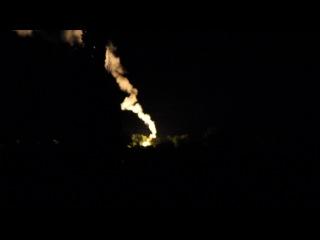 сигнальные ракеты над БИРЮКОВО