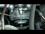 установка ТНВД на двигатель Камаз-740
