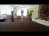 Армянский танец невесты.  ( гаридова Катя и Мадина) (Harsi Par) Репетиция.