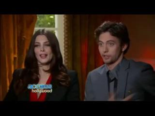 Breaking Dawn P1 Press Junket - Jackson Rathbone & Ashley Greene on Access Hollywood Interview