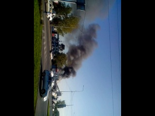 пожар на складе в тюмени 15.08.14