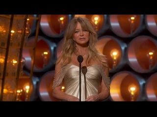 Goldie Hawn - Best Picture presentor (Oscars 2014)