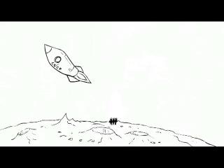 08-Три богатыря и Астероид-Three Russian Bogaturs & Asteroid (animation)