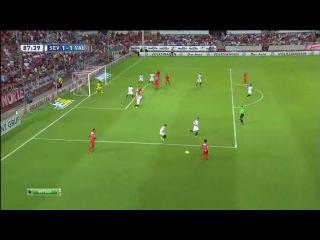 Севилья 1-1 Валенсия, Орбан, Гол