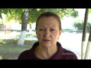 Женщина показала пример мужества Как жгут в Днепропетровске_Full-HD