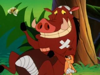 Тимон и Пумба (Timon and Pumbaa) - Двое в зоопарке + Свинство с камнем (8 Сезон. 5 Серия)