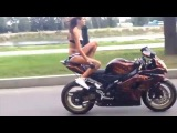 New! Naked Girls on motorcycles.