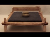 Fun to assemble a wooden BED -  Like a Lego for adults