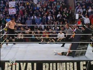 132. John Cena vs Umaga (Royal Rumble 2007 Last Man Standing match, WWE Championship)