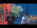 День Победы 9 мая 2014г. - г. Чухлома - Владимир Шушков и Галина Шмелёва - Бери шинель, пошли домой(Б. Ш. Окуджава cover)